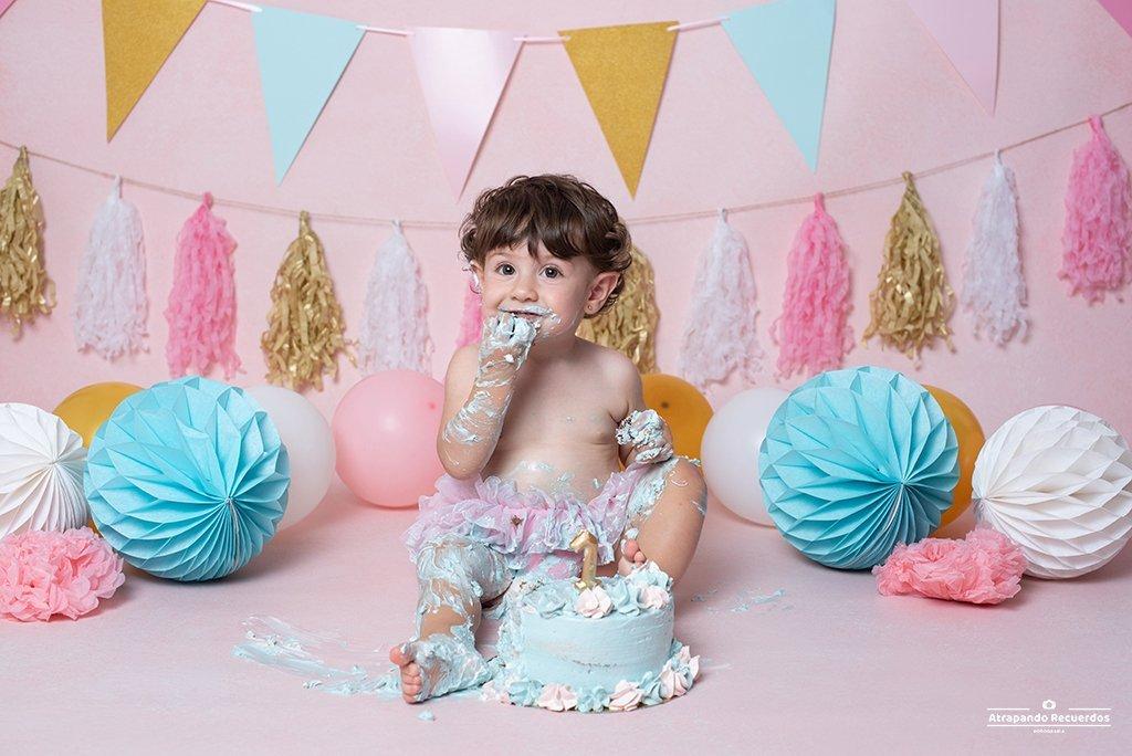 fotografo smash cake bilbao