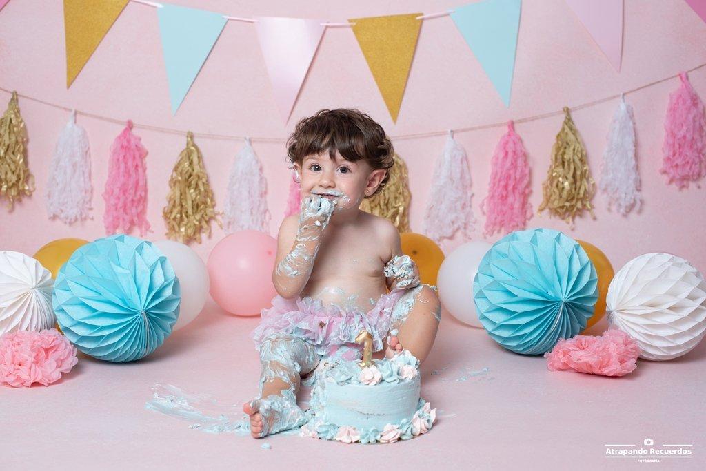 fotografo smash cake getxo