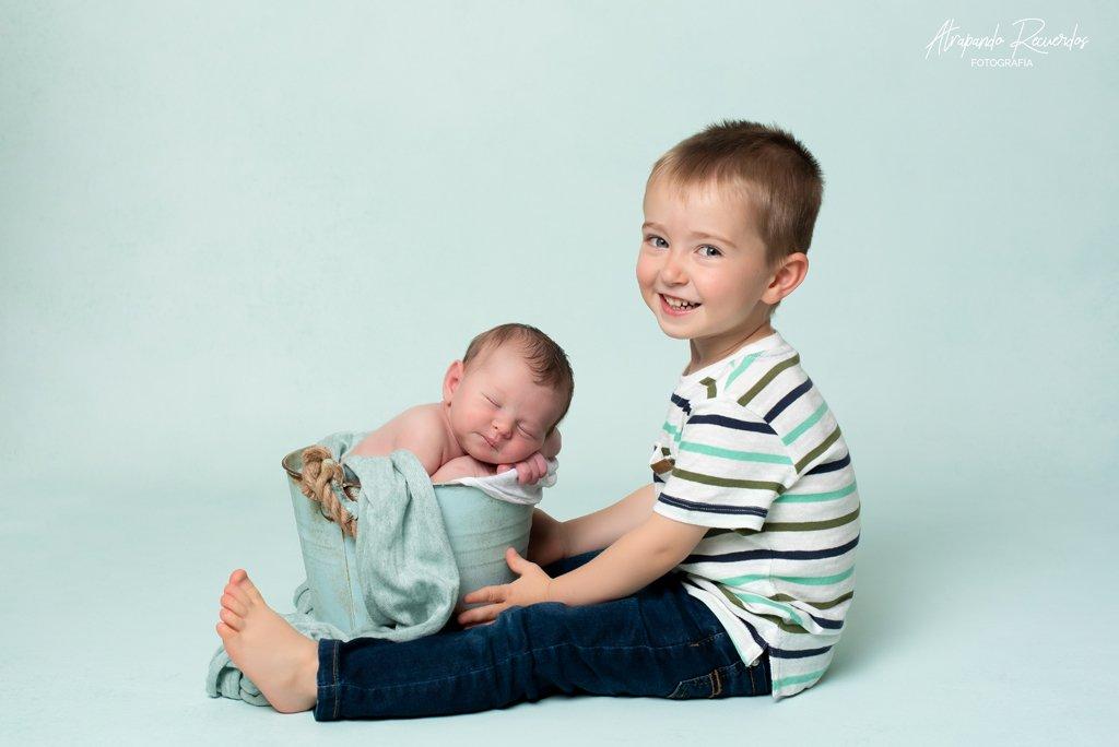 fotos newborn hermano bilbao