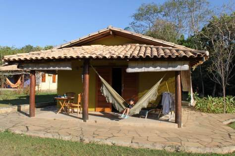 Chalé da pousada Taman Baru em Pirenópolis