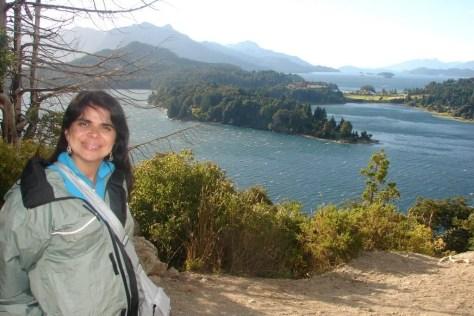 Vista maravilhosa do Circuito Chico, em Bariloche