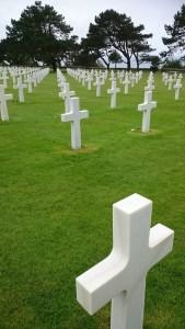 Cemitério americano, na Normandia