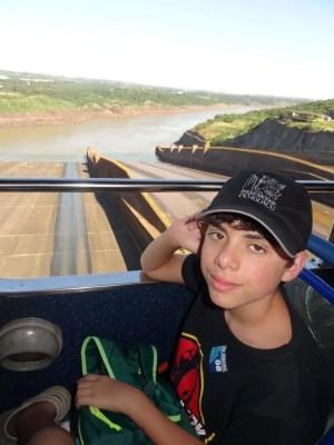 Vertedouros fechados na Visita Panorâmica - Usina Hidrelétrica de Itaipu