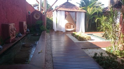 Ambientes primorosos no hotel Casarão Villa do Império, Pirenópolis
