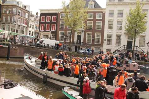 Dia do Rei em Amsterdam