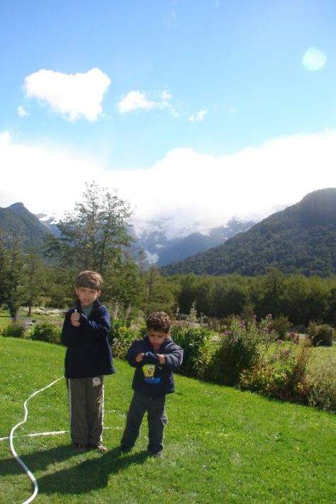 Cerro Tronador, visto de Pampa Linda