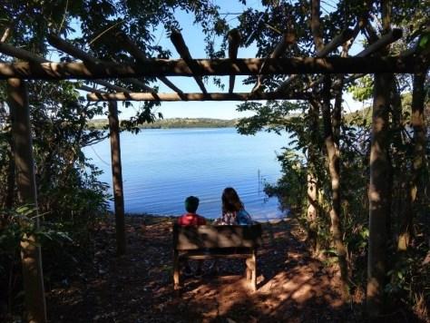Lago Corumbá 4, no Hotel Fazenda Raizama