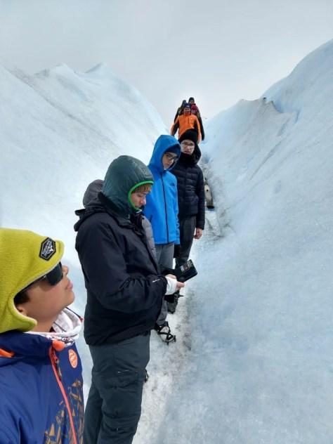 Mini trekking no glaciar Perito Moreno, El Calafate, Argentina