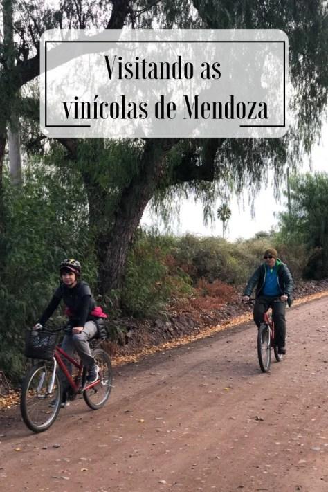 Pedalando nas vinícolas de Mendoza