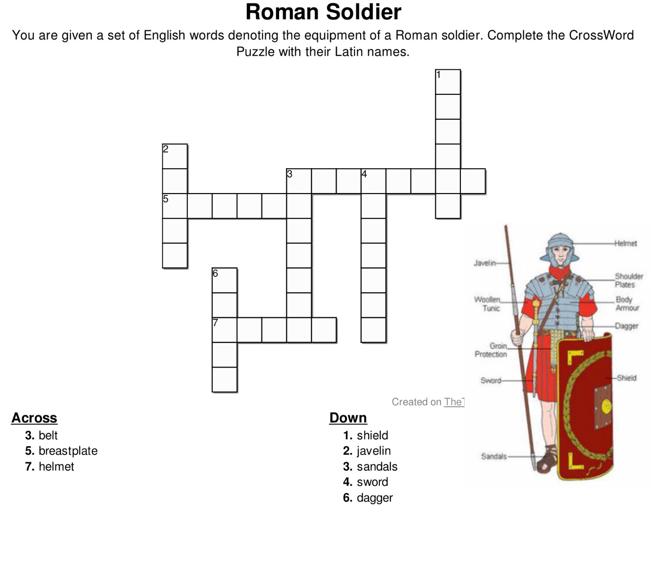 Latin Worksheets Based On Starting Out In Latin Textbook Reks Educational Ios Applications
