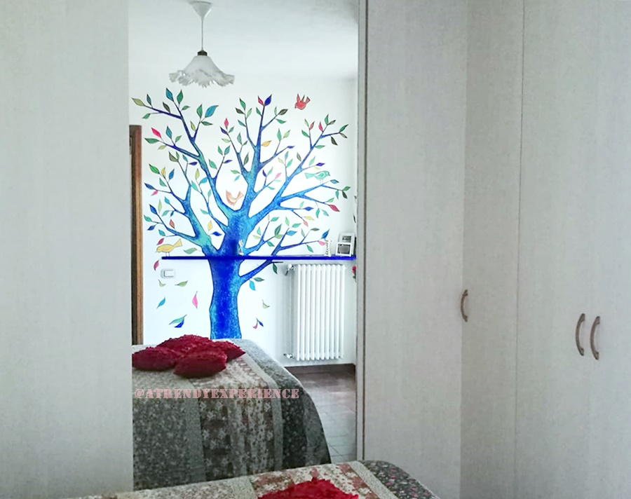 Pittura parete perfect parete decorata with pittura - Decorare pareti con pittura ...