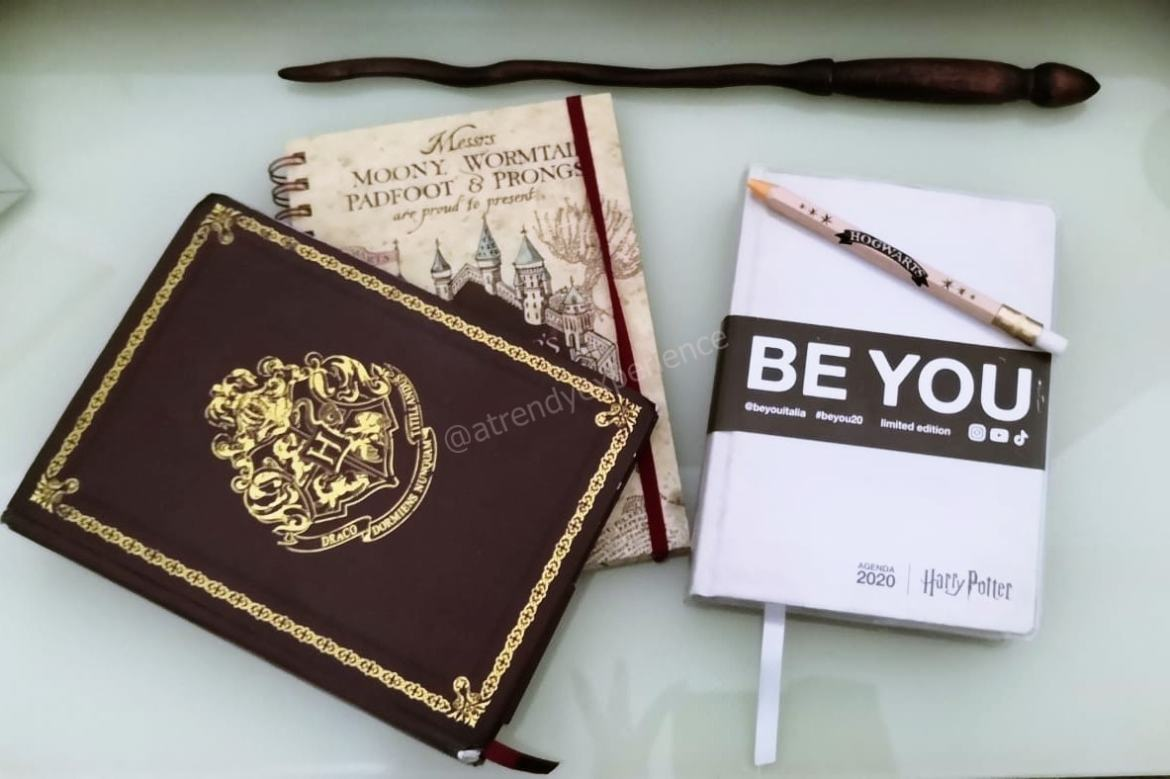 Agenda diario Harry Potter BE YOU recensione
