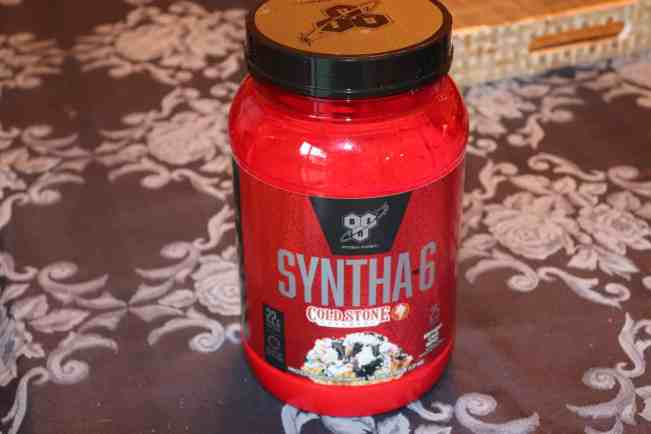 SYNTHA 6 Cold Stone Creamery Protein Powder