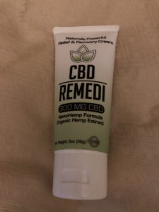 CBD product Remedi Organics