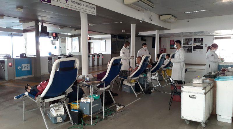 CCR Barcas promove operação especial para doação de sangue – A Tribuna RJ