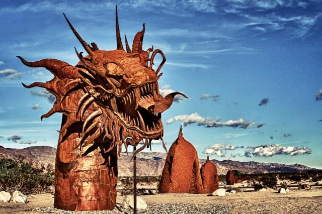 Dragon Sculpture, Anza Borrego State Park, California