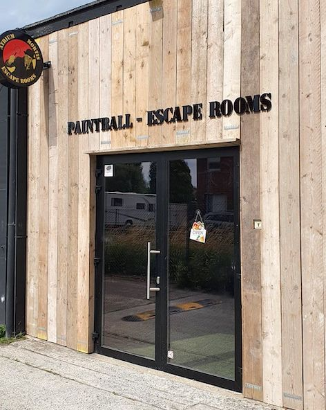 Lebbeke Escape Rooms Atrium Mortis inkom