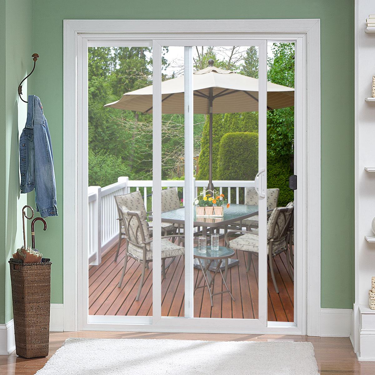Two Lite Sliding Patio Doors  Atrium Windows  Doors