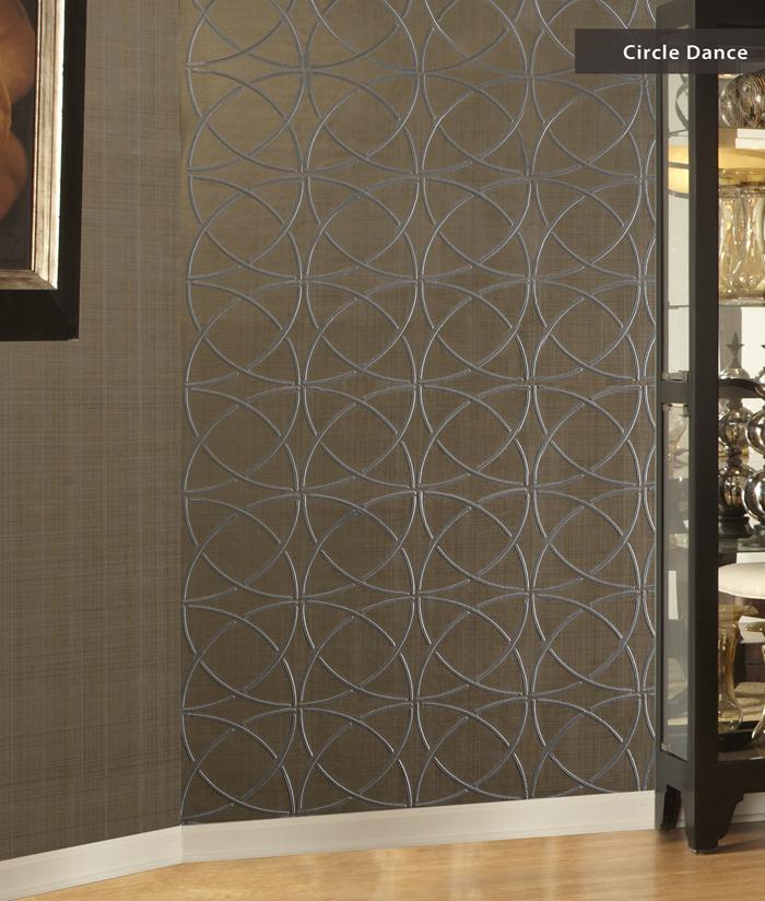 Atrium Wallcoverings  Modern Wallpaper  Embossed