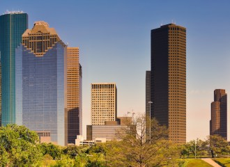 Houston Skyline, A True P.I