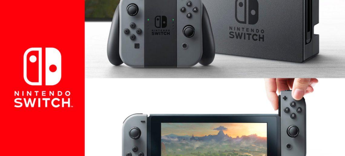 Nintendo Switch por fin se deja ver… Opiniones, criticas y prediciones