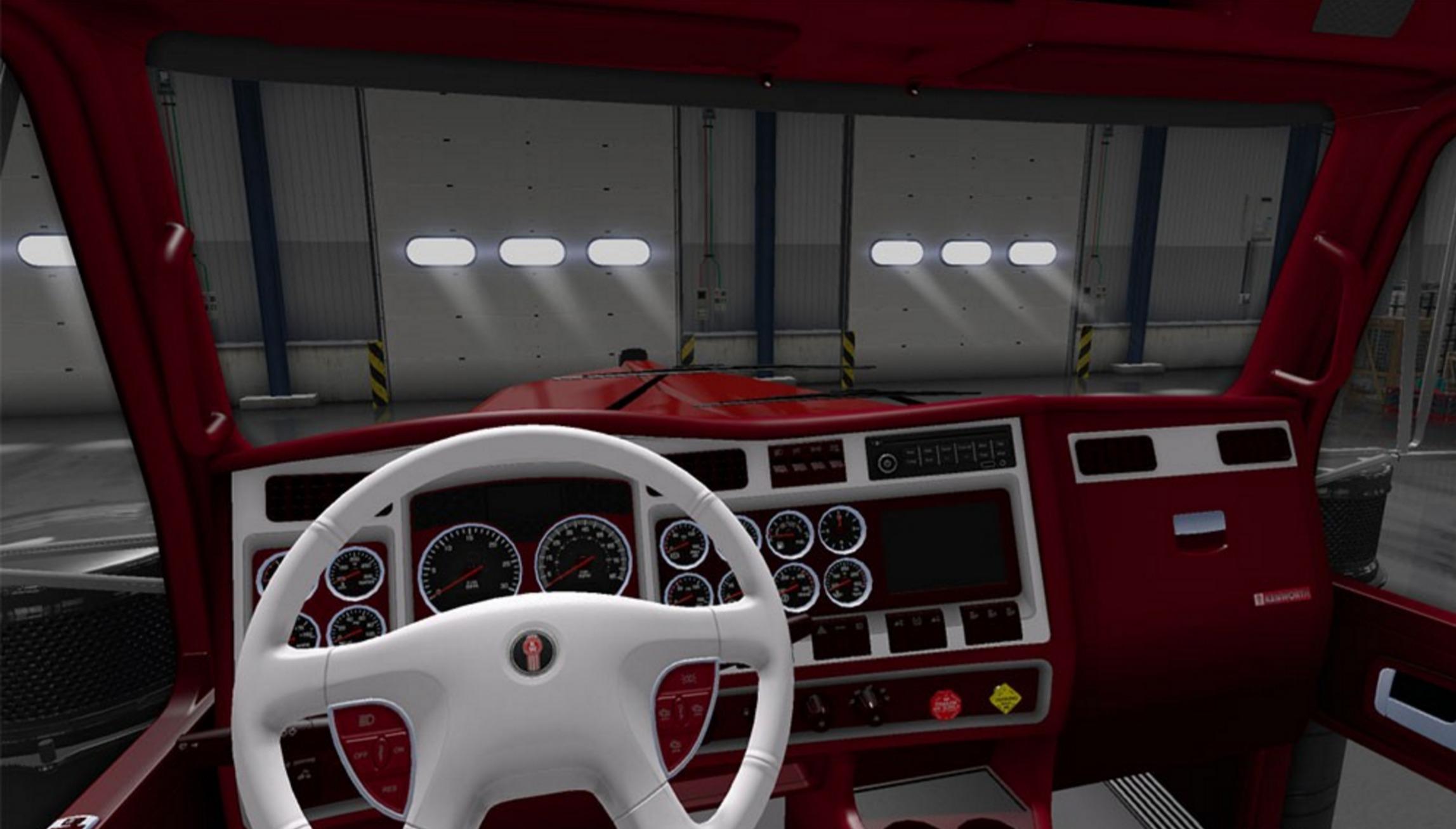 Interior Sleeper W900 Studio Kenworth 2017