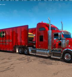 kenworth t800 beta truck [ 1360 x 768 Pixel ]