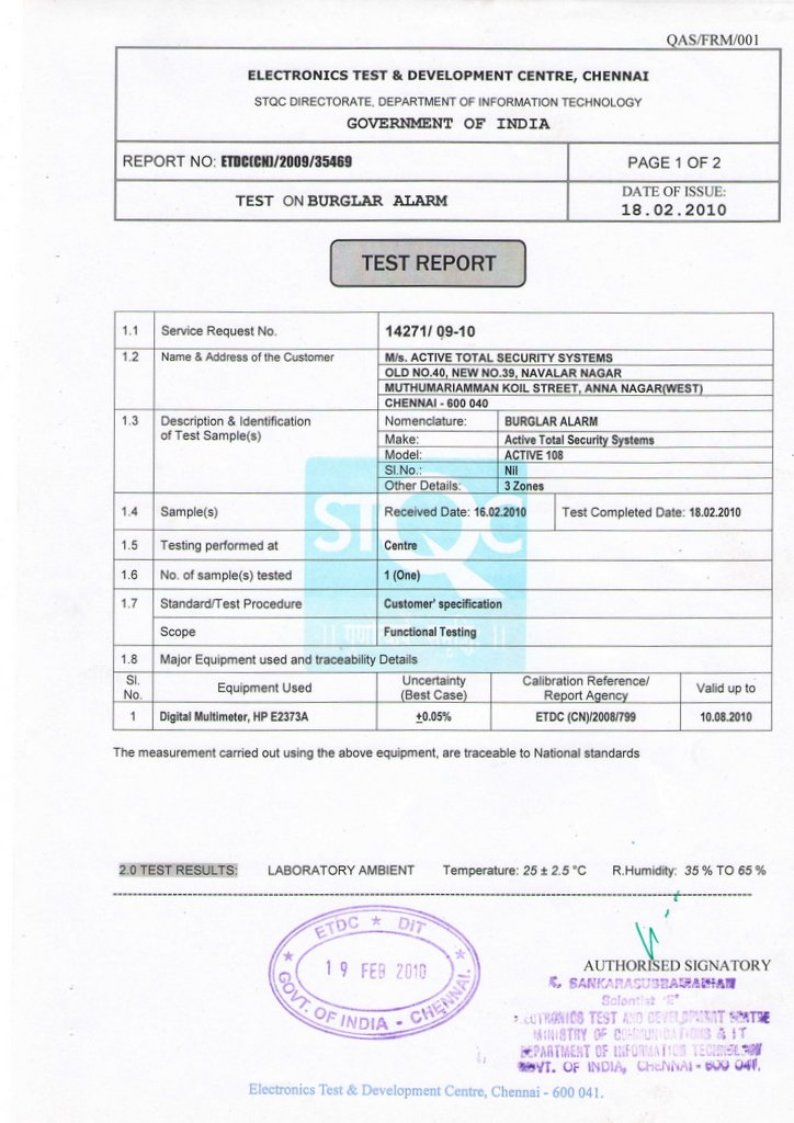 burglar alarm pir wiring diagram rip current stqc certified manufacturer atss india