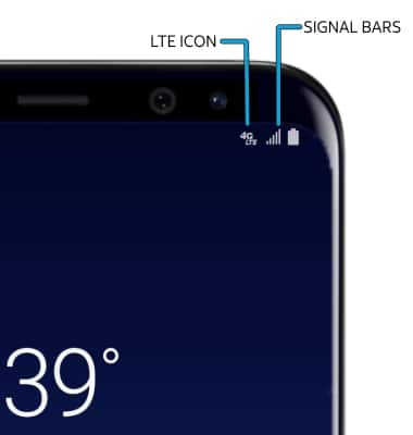Image result for receiving bars on Samsung Galaxy S8