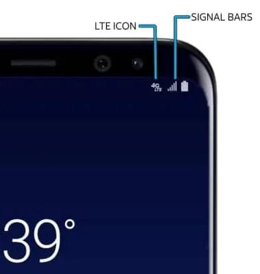 Image result for reception bars on samsung galaxy s8