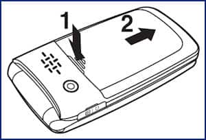 Remove or Insert the SIM Card for the Pantech Breeze III