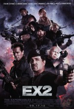 EX2 aka The Expendables 2 poster