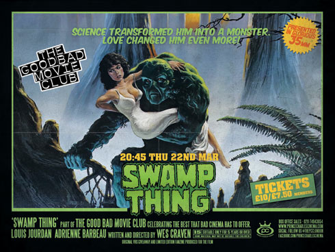 Swamp Thing @ The Good Bad Movie Club