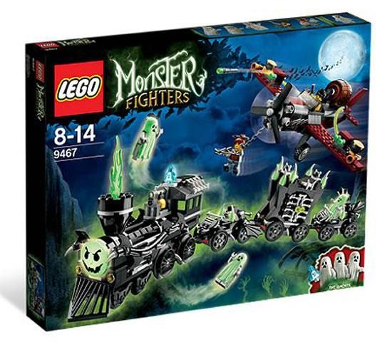Lego Monster Hunters -Ghost Train
