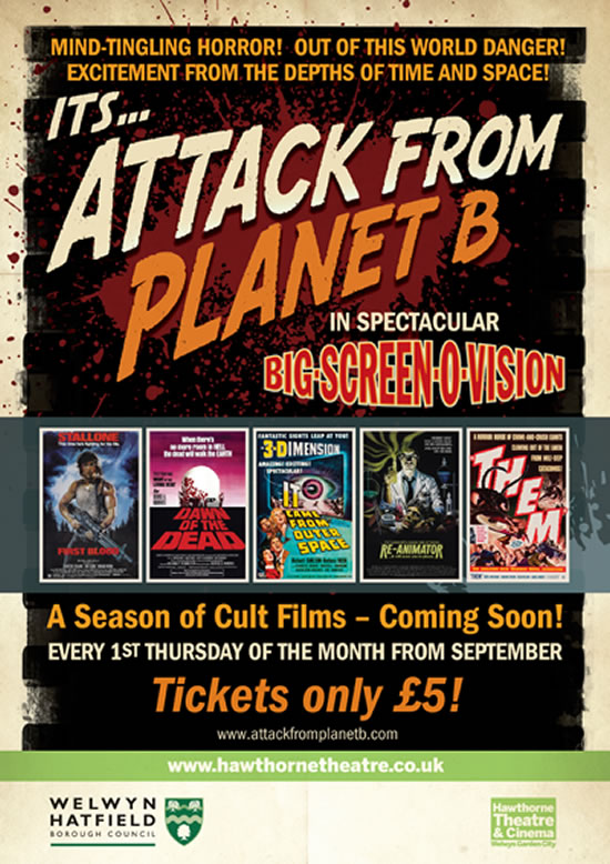 Attack From Planet B Presents ...