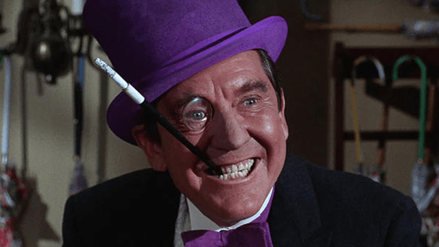 Burgess Meredith as 'The Penguin'