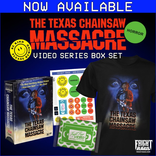 Fright-Rags The Texas Chainsaw Massacre Video Series