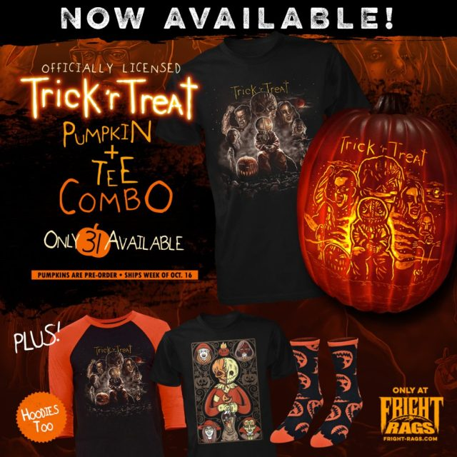 TRICK 'R TREAT Merchandise from Fright-Rags