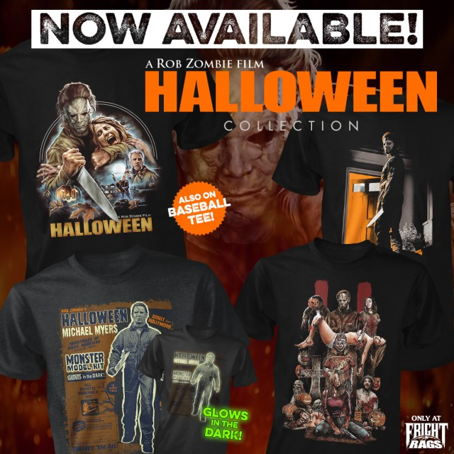Rob Zombie's HALLOWEEN collection from Fright-Rags