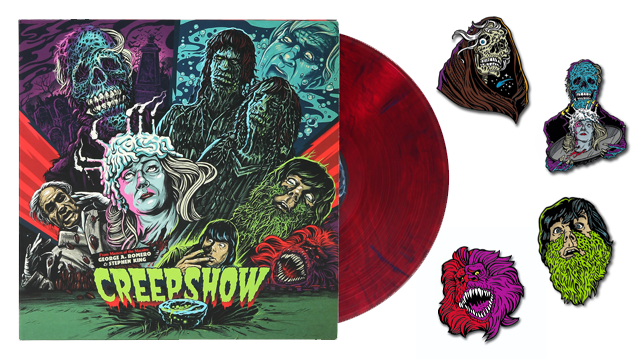 Waxwork Records Presents CREEPSHOW (Deluxe 2017 Soundtrack and Enamel Pins)