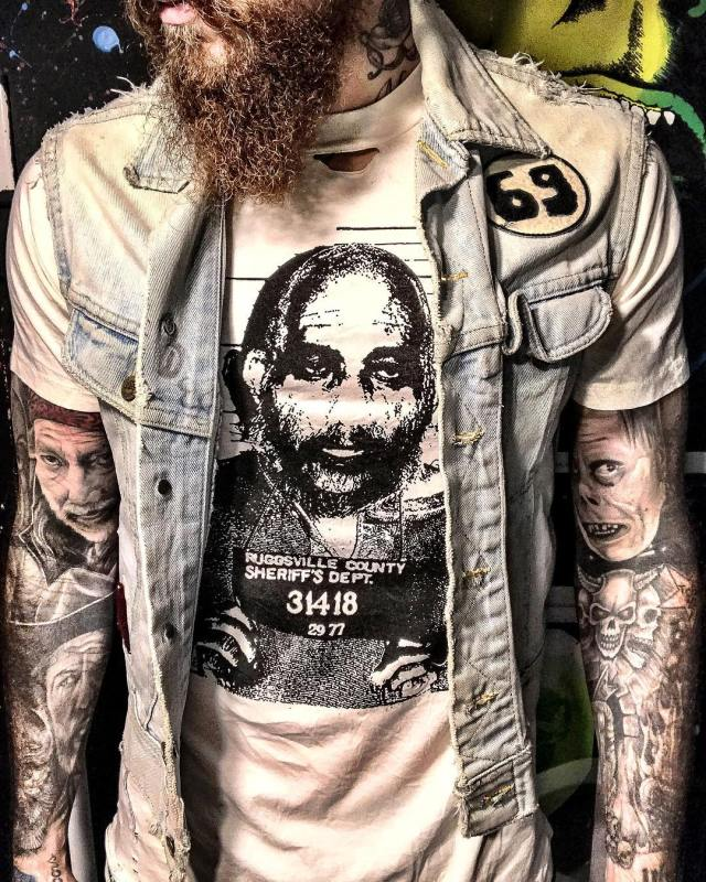 Limited Edition CAPTAIN SPAULDING Mugshot T-Shirt from Local Boogeyman