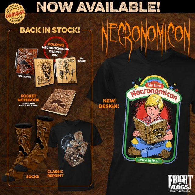 Fright-Rags' NECRONOMICON Apparel