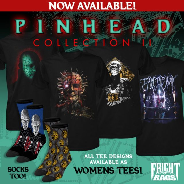 Fright-Rags' PINHEAD Apparel