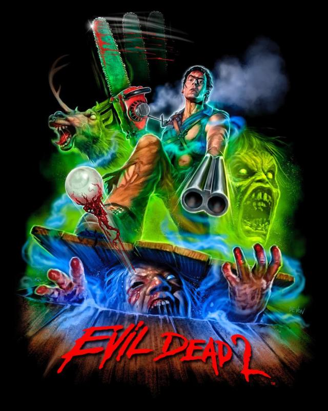 EVIL DEAD 2 Collection: Part 2 Now Available from Cavity Colors