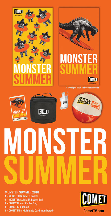 COMET TV: Monster Summer Giveaway