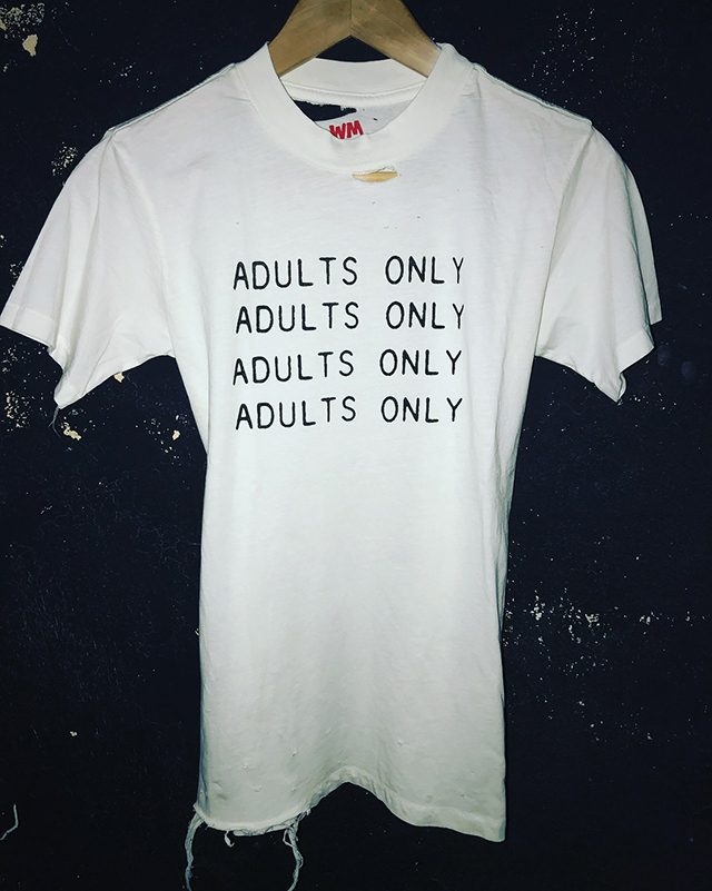 Small batch of ADULTS ONLY 💦 T-Shirts Available from Local Boogeyman