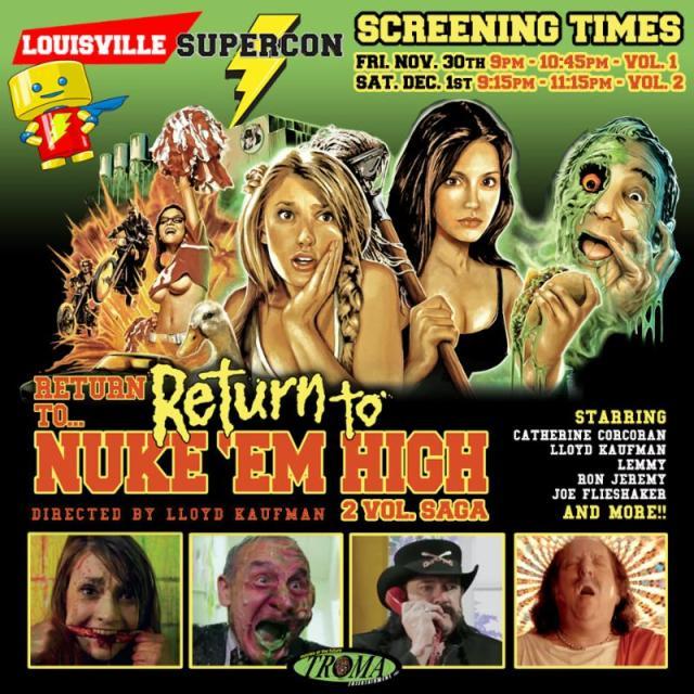 Louisville Supercon Welcomes Troma President Lloyd Kaufman & Dolly Deadly Director Heidi Moore