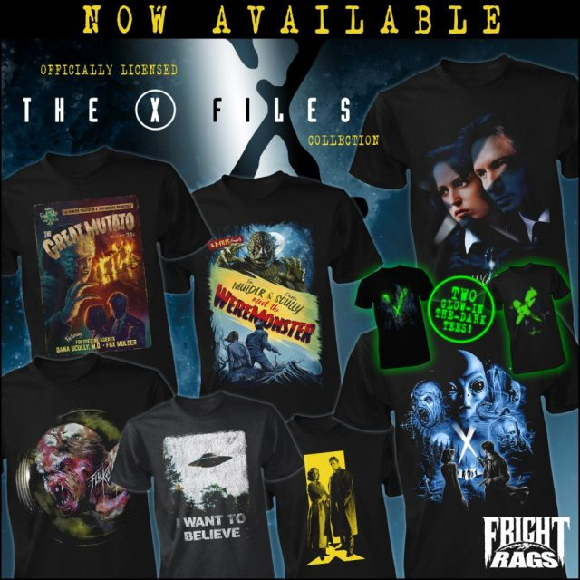 Fright-Rags' THE X-FILES & JOE BOB BRIGGS Merchandise Is Out of This World! 👽