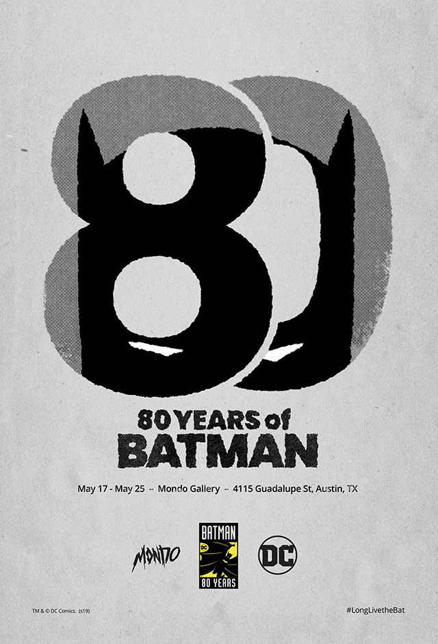 Mondo Celebrates The Dark Knight With History-Spanning 80 YEARS OF BATMAN Gallery