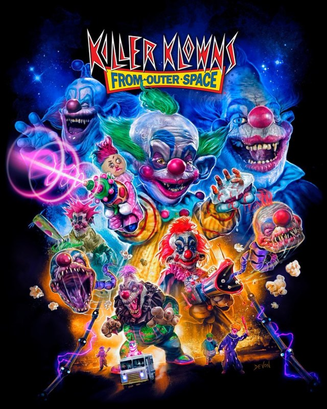 KILLER KLOWNS FROM OUTER SPACE Collection: Part 1 from Cavity Colors 🤡🎪